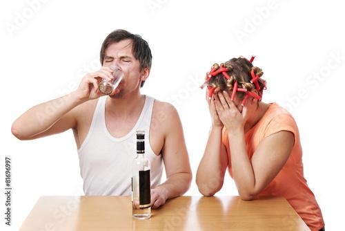 Если развод из за алкоголизма
