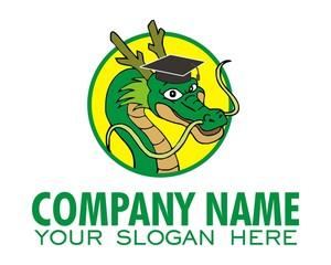 dragon scholar gown logo image