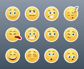 Emotional smilies