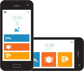 Responsive Design  Mobile Wireframe