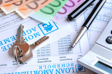 Calculation of mortgage loan rear view
