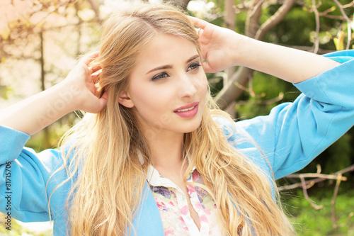 девушки блондинки фото
