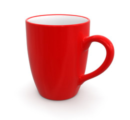 Cup (clipping path included)