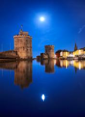 Port de la Rochelle, Super Lune
