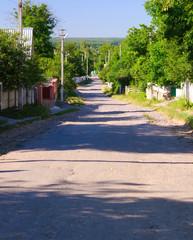 ukrainian village street