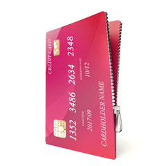 Zipped credit card