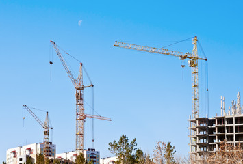 Строительство в городе