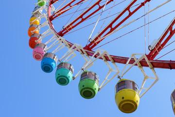 Ferris wheel carnival park