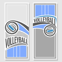 Background images for text on the subject of volleyball