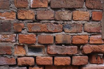 Old brick wall texture - Stock Image
