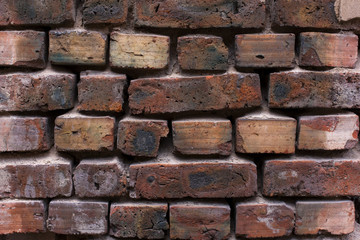 Old brick wall texture - Stock Image