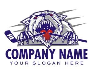 tiger bear logo icon vector