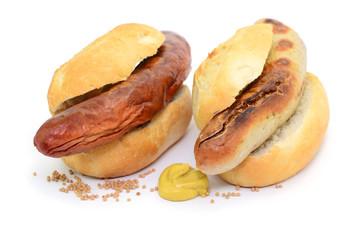 Grillwurst Brötchen