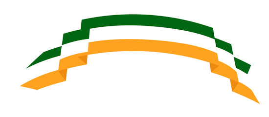 Patrick's Day Ribbon Banner