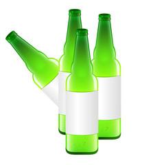 Beer Bottles Vector Design