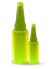 Beer Bottles Vector Drinks