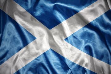 shining scottish flag