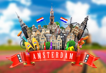 Fototapete - Amsterdam