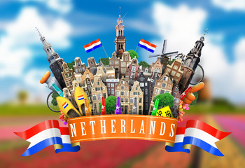 Fototapete - Netherlands