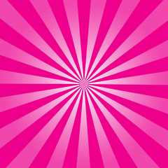 Pink ray retro background vector illustration