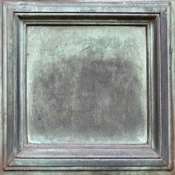 Kupfer mit Grünspan