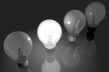 Lightbulb concept