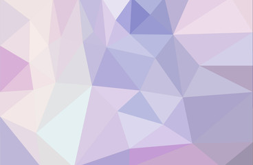 low poly abstract background light