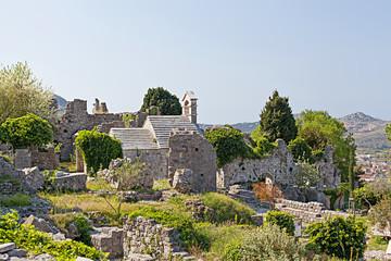 Ruins of ancient Bar town.