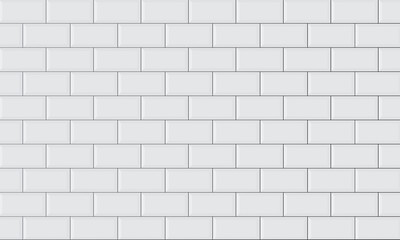 Obraz ceramic brick tile wall - fototapety do salonu