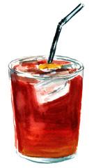 Tinto de verano ('summer red wine', Spanish cocktail)