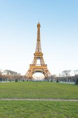 Eiffel Tower, Paris France. One of the world's famous landmark