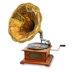 old gramophone