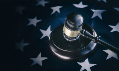 American legal law government concept image