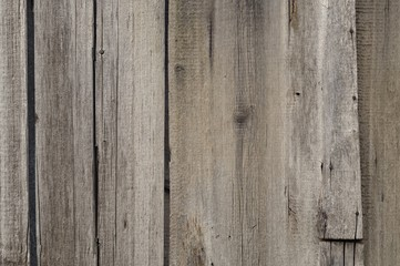 Old ragged wooden fence background
