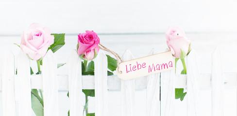 Wall Mural - liebe mama