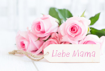liebe mama rosen