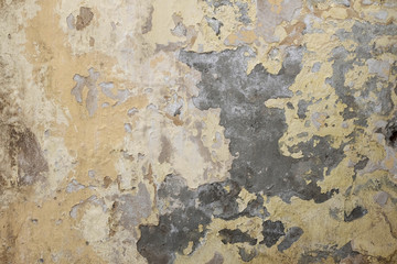 Fotobehang Oude vuile getextureerde muur Grunge painted wall with place for copyspace