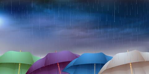 傘 梅雨 背景
