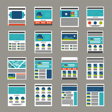 Website layout collection