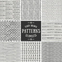 Abstract Seamless Patterns Collection