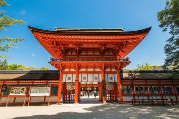 京都 下鴨神社 楼門