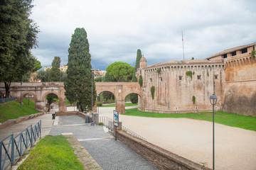 sant' angelo castle, rome