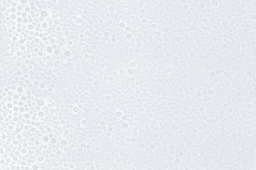 water drops on a white surface - abstract background