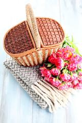 Autocollant pour porte Pique-nique picnic basket