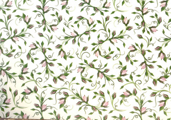 ornament  in the style of Provence background