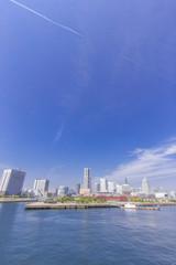 横浜みなとみらい・ランドマークタワー周辺の水辺