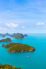 Ang Thong National Marine Park  bird's-eye view