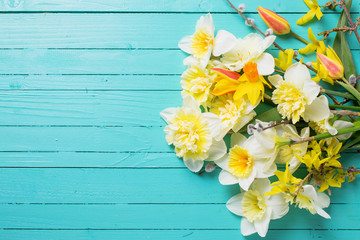 Fresh  spring  flowers