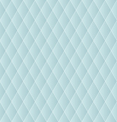 Rhombus geometric seamless abstract background.