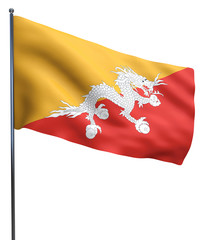 Bhutan Flag Image